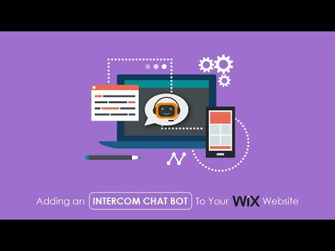 How To Add An Intercom Chat Bot To Your Wix Website - 2019 Wix Website Tutorial