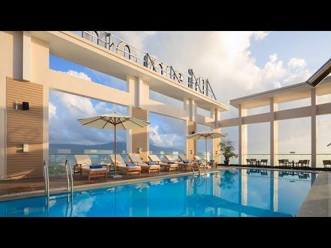 Amazing Rooftop Swimming Pool   Diamond Sea Hotel In Da Nang