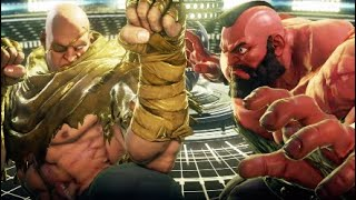 Facing Sagat and G for the First Time - Street Fighter 5 {Rusty Edition}