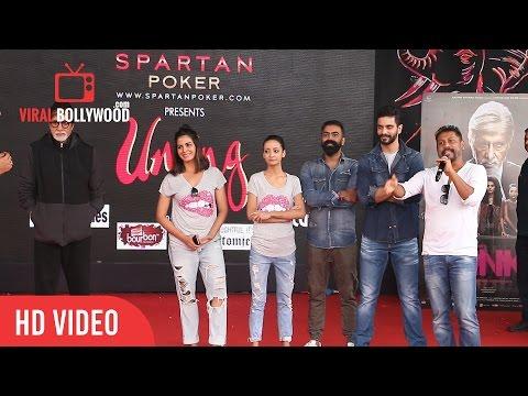Amitabh Bachchan and Team Pink Fun Interaction at Umang 2016