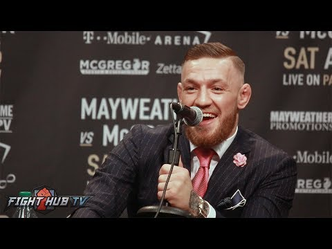 THE COMPLETE MAYWEATHER SR VS. CONOR MCGREGOR VERBAL WAR EXCHANGE