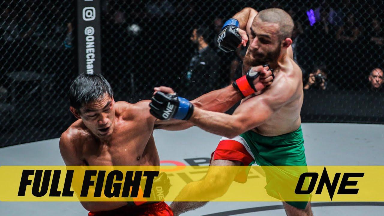 Eduard Folayang vs. Kharun Atlangeriev | ONE: BATTLEGROUND II Fight Replay