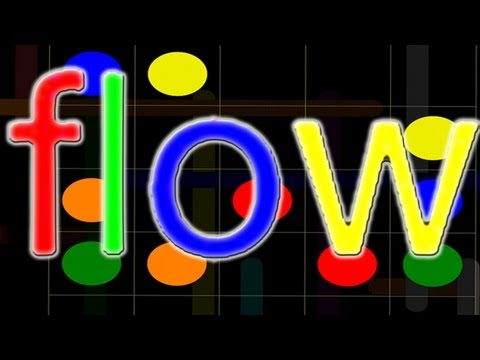 FLOW Free (iPhone, iPad, iPod) Level 1-10 Solutions Walkthrough