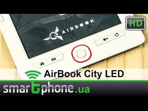 Airbook City LED - Обзор электронной книги с подсветкой