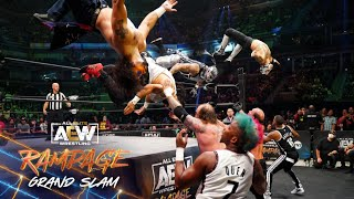 Watch the Tag Champs Soar in this Amazing 8 Man Tag Team Matchup | AEW Rampage Grand Slam, 9/24/21
