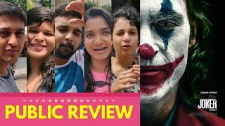 Joker Movie PUBLIC REVIEW   Joaquin Phoenix, Zazie Beetz, Robert De Niro   Todd Phillips   American Video