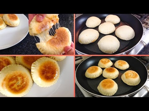 Pizza Pockets Without Oven On Pan   Iftar Special   Lunch Box By (HUMA IN THE KITCHEN)
