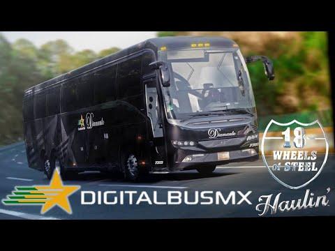 Autobuses Estrella de Oro 18 wos haulin Digital mod bus mexico (juegos en simulador) Cap.1
