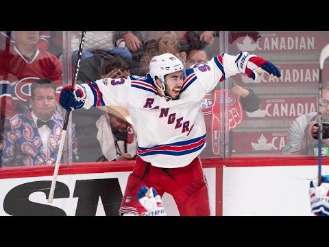 Zibanejad scores OT winner, Rangers push Canadiens to brink