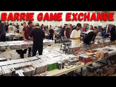 Ontario's Largest Video Game Swap - Barrie Game Exchange 2019