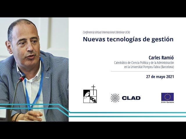 Cuarta conferencia #UCA: Nuevas tecnologías de gestión