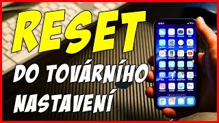 Jak resetovat Apple iPhone do továrního nastavení - Reset to factory settings (English subtitles)