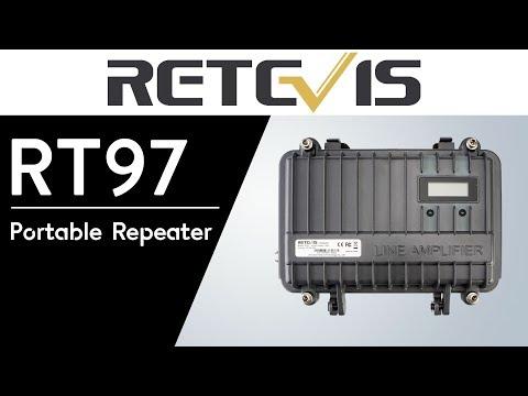 RETEVIS RT97 Portable Analog 10W VHF/UHF Repeater