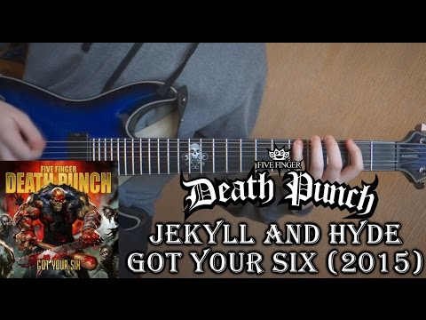 Five Finger Death Punch - Jekyll and Hyde (Guitar Cover + TAB by Godspeedy)
