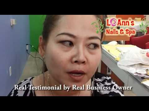 Vietnamese Nail Salon Testimonial, chu tiem nail lời chứng thực của khách hàng của tôi