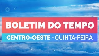 Previsão Centro-Oeste – Risco de chuva forte em Goiânia