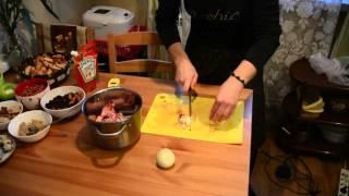 Разделываем и маринуем фазана видео