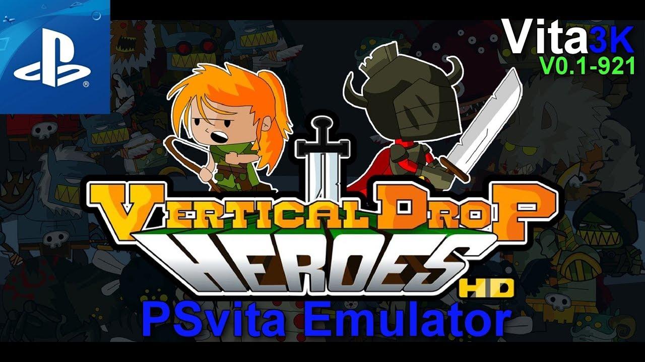[PSvita Emulator] Vita3K   Vertical Drop Heroes HD   Ingame   TEST#01
