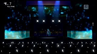 【初音ミク  PDA- ƒ Live Studio VIP】 1/6 out of the gravity 【初音ミク FULL HD 1080p】 English Sub Romaji 日本語歌詞