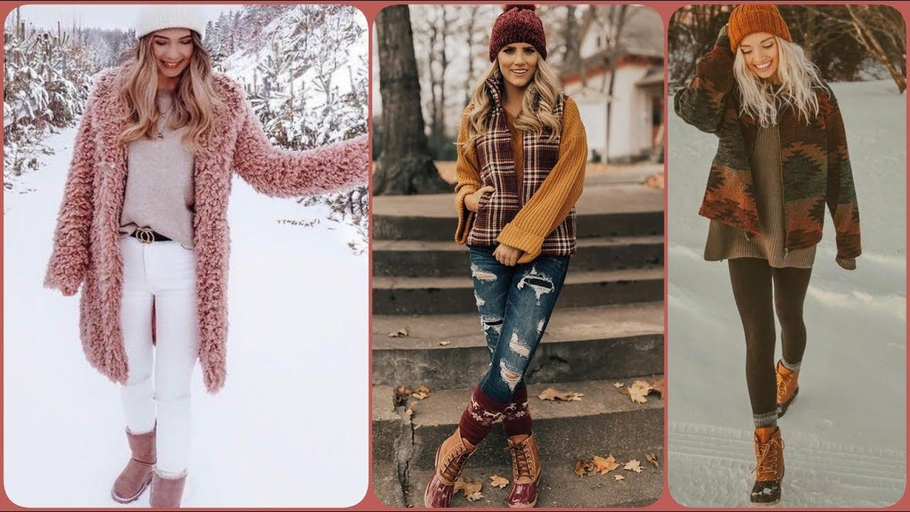 [VIDEO] - cute winter outfits with denim shirts 2019/2020 6