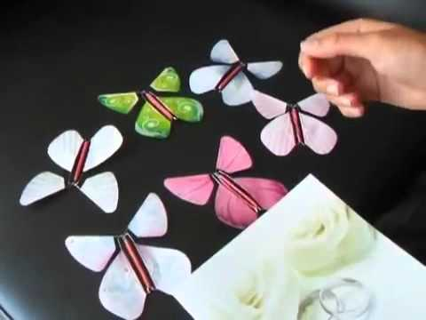 イタズラDIY☆飛び出す蝶々カードの作り方!子供工作