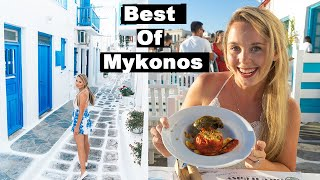 EVERYTHING to See and Do in MYKONOS | Greece Free Travel Guide | Old town, Delos and Little Venice