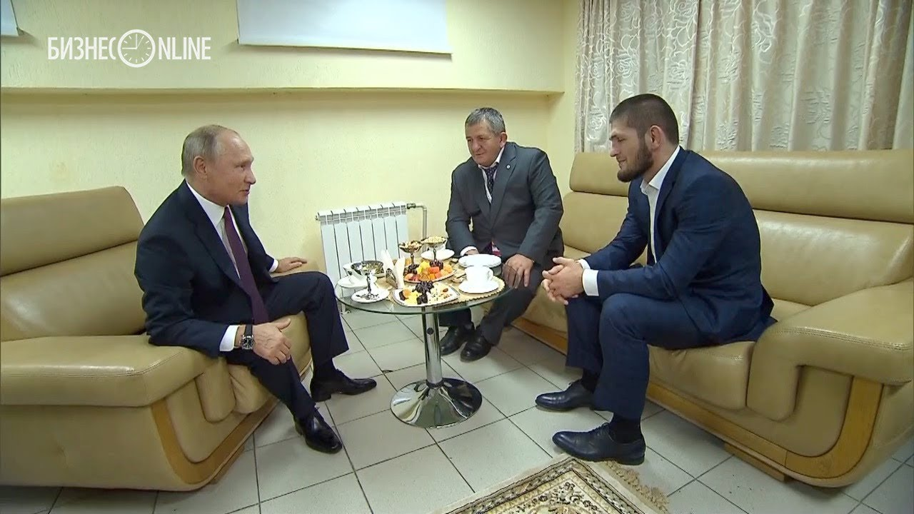 Путин встретился с Нурмагомедовым и поздравил его с победой над Макгрегором