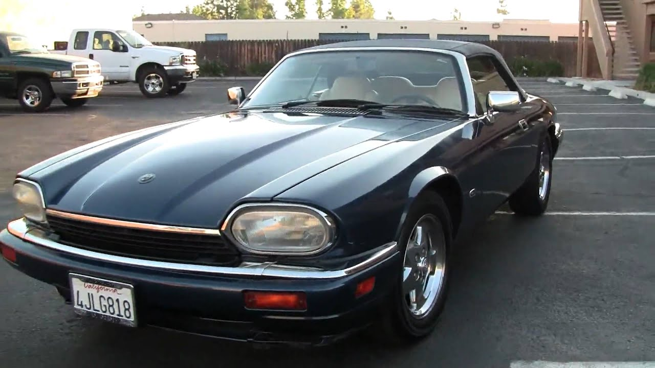 1995 Jaguar XJS 2+2 Drophead Convertible 4.0 XJ6 S For Sale   YouTube
