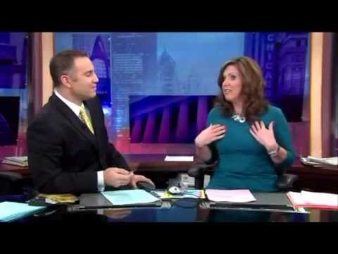 WGN TV News Anchors Cover 'Staged' Plane Crash As Real News!