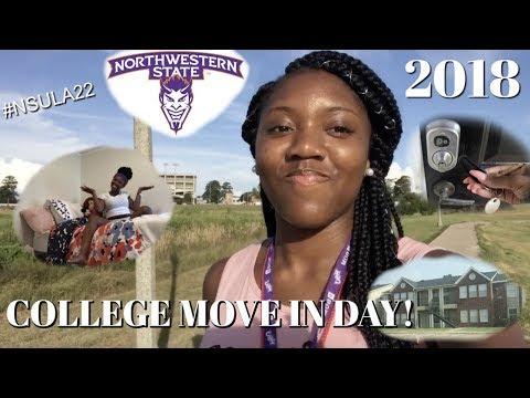 MOVE IN DAY VLOG | NORTHWESTERN STATE UNIVERSITY LA