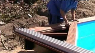 Repeat youtube video Schwimmbadbau Hamburg / Schweiz, Poolbau mit Holz