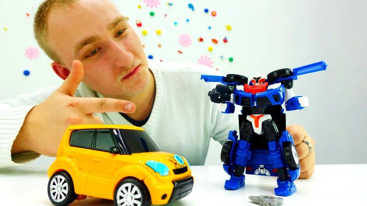 Трансформеры машинки видео игрушки