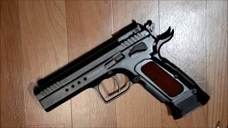 пистолет пневматический Cybergun Tanfoglio Limited Custom.Часть 2