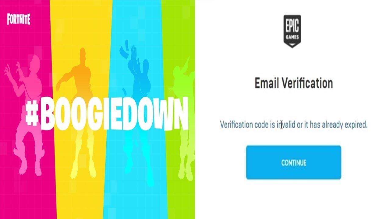 verification code for fortnite mobile