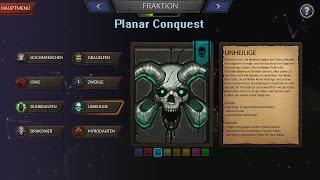 Planar Conquest German,Deutsch Unhallowed Folge  2