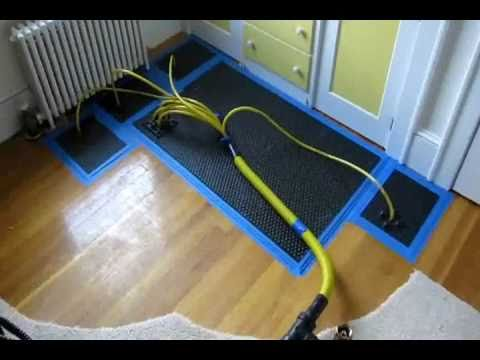How To Repair And Dry Wet Hardwood Floor Water Damage Sudbury Weston Massachusetts Youtube