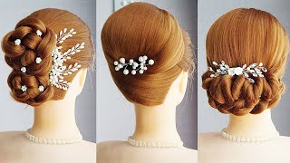 5 Easy Hairstyles For Ladies Different Hairstyle For Long Hair Hair Style Girl Bun For Wedding