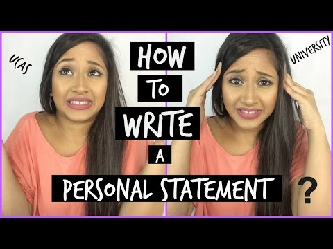 HOW TO WRITE A PERSONAL STATEMENT AND WHAT TO INCLUDE - TIPS AND ADVICE