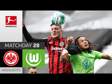 Eintracht  Frankfurt Wolfsburg Goals And Highlights