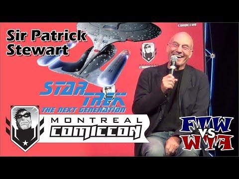 Sir Patrick Stewart - Montreal ComicCon - Full Panel