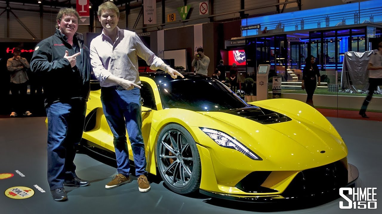 Discover the Venom F5 with John Hennessey! | FIRST LOOK