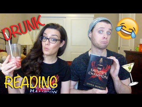 Drunk Dramatic Reading  | THE SAVIOR'S CHAMPION by Jenna Moreci