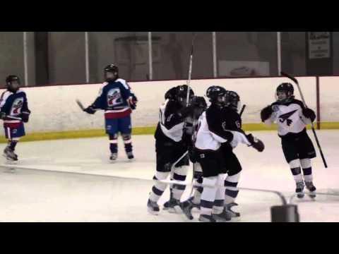 Rogers to Blair hockey goal