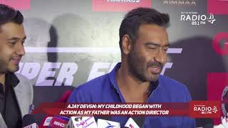 Ajay Devgn on 'Aapla Manus' and Nana Patekar!
