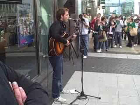 James Morrison - Regional Radio Tour: Busking In Birmingham