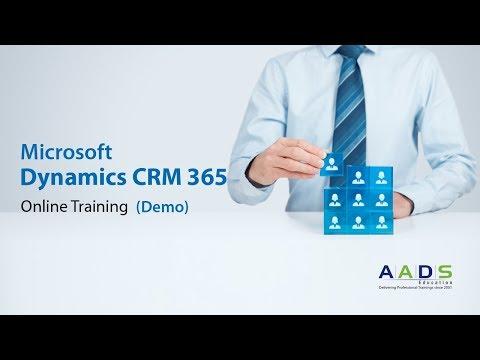 Microsoft Dynamics 365 CRM Online Training Demo