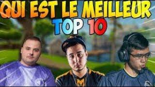 🥇 TOP 10 DES MEILLEURS JOUEURS FORTNITE FR