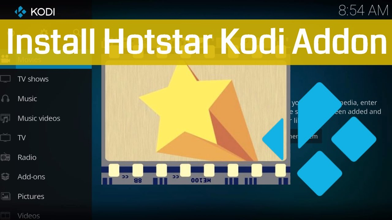 How To Install Hotstar Kodi Addon