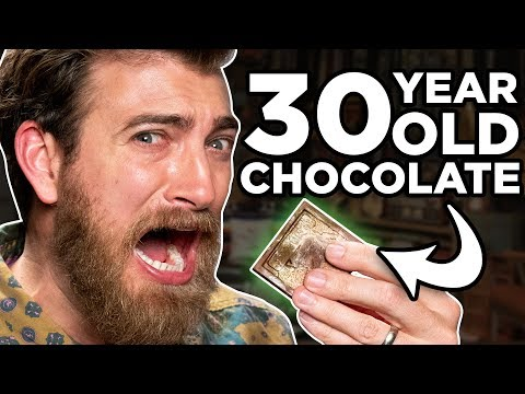 30 - Years - Old Chocolate Taste Test