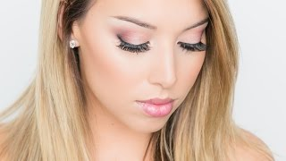 Pink Holiday Eye Makeup Tutorial! Thumbnail